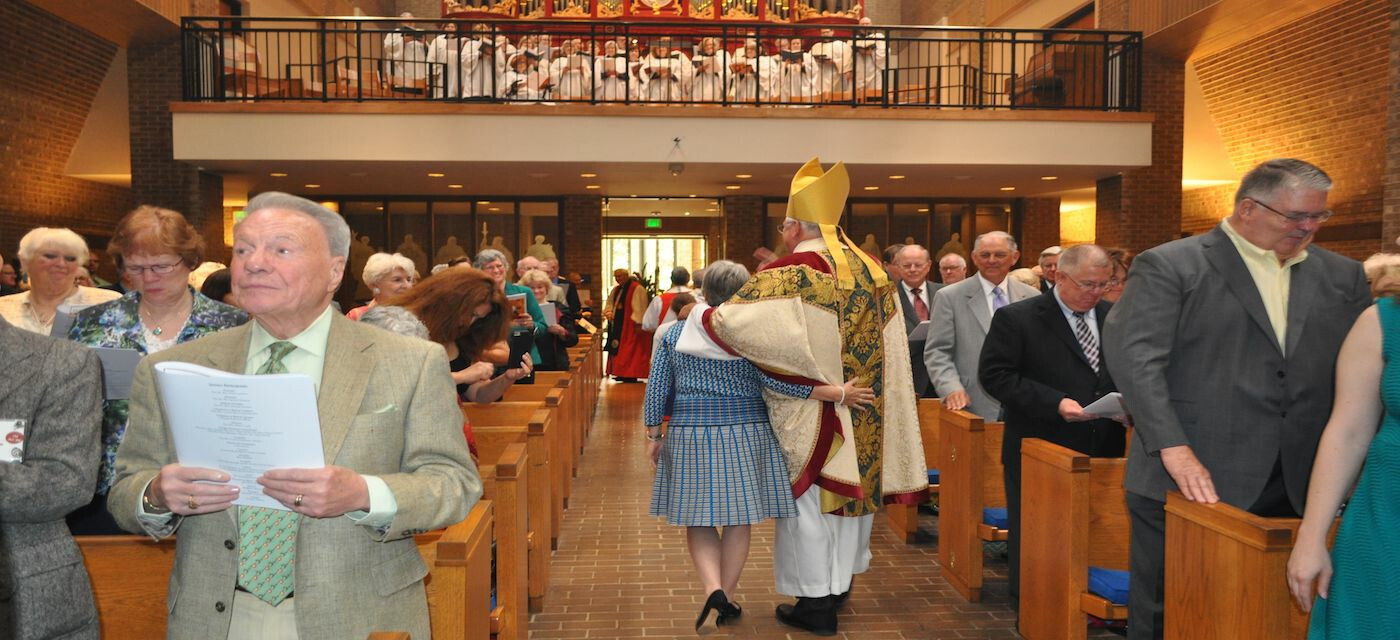 Bishop Lambert's Farewell Mass