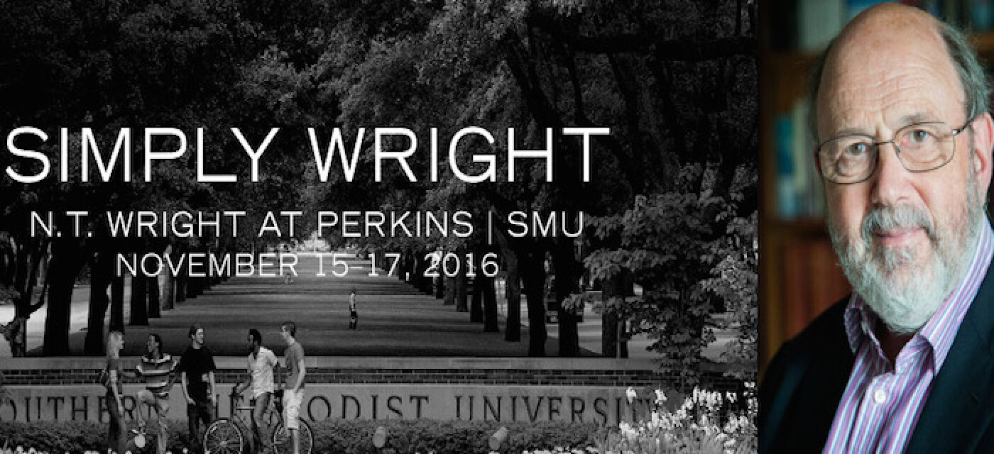 N.T. Wright Is Coming to Dallas In November