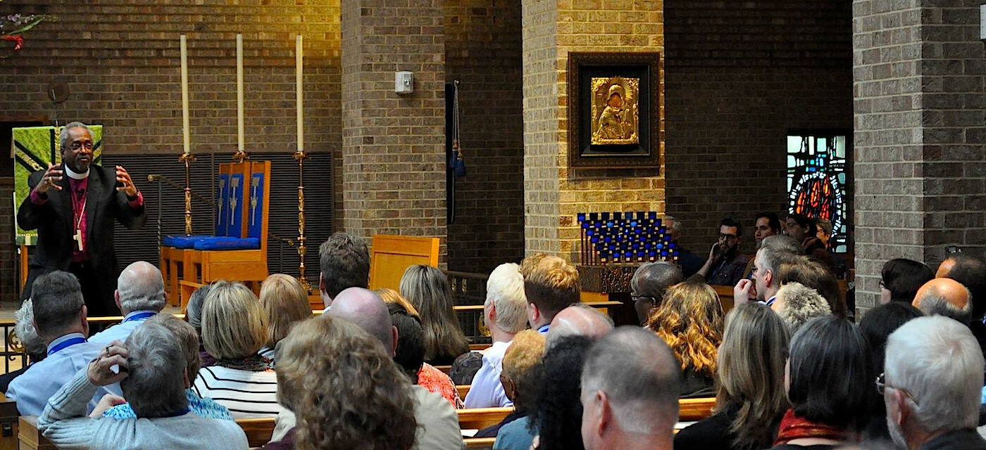 Presiding Bishop Curry leads Evangelism Matters conference in Dallas