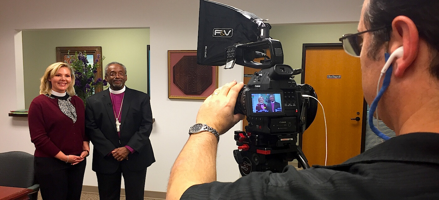 Presiding Bishop Michael Curry Promotes Church Plant