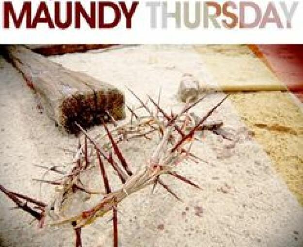 Maundy Thursday Service with Bishop George Sumner