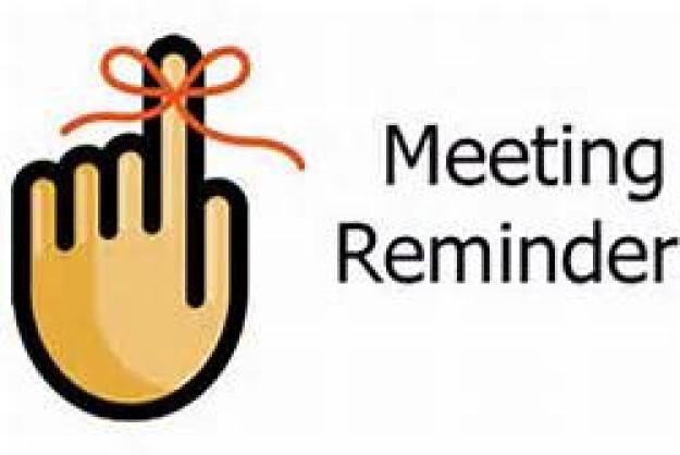 2020 Pre-Convention Meetings-Via Zoom