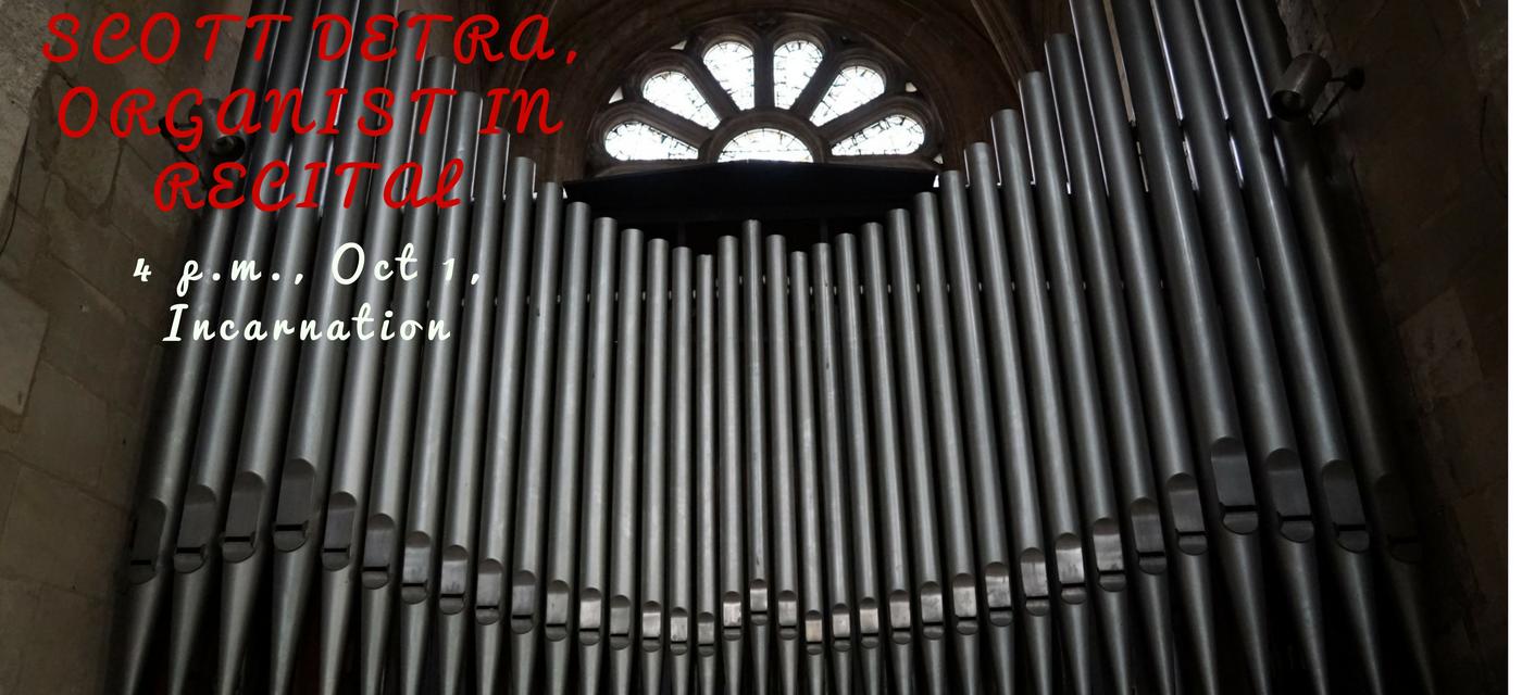 Organ Recital with Scott Dettra