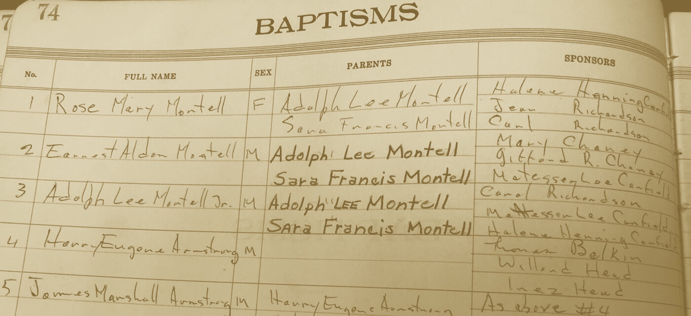 Baptism, Confirmation and Marriage Records to Go Online
