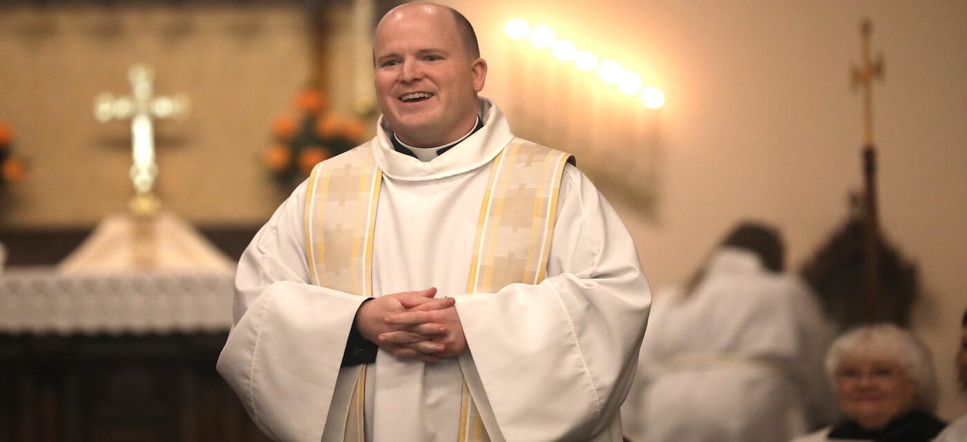 Parishes Share Priest