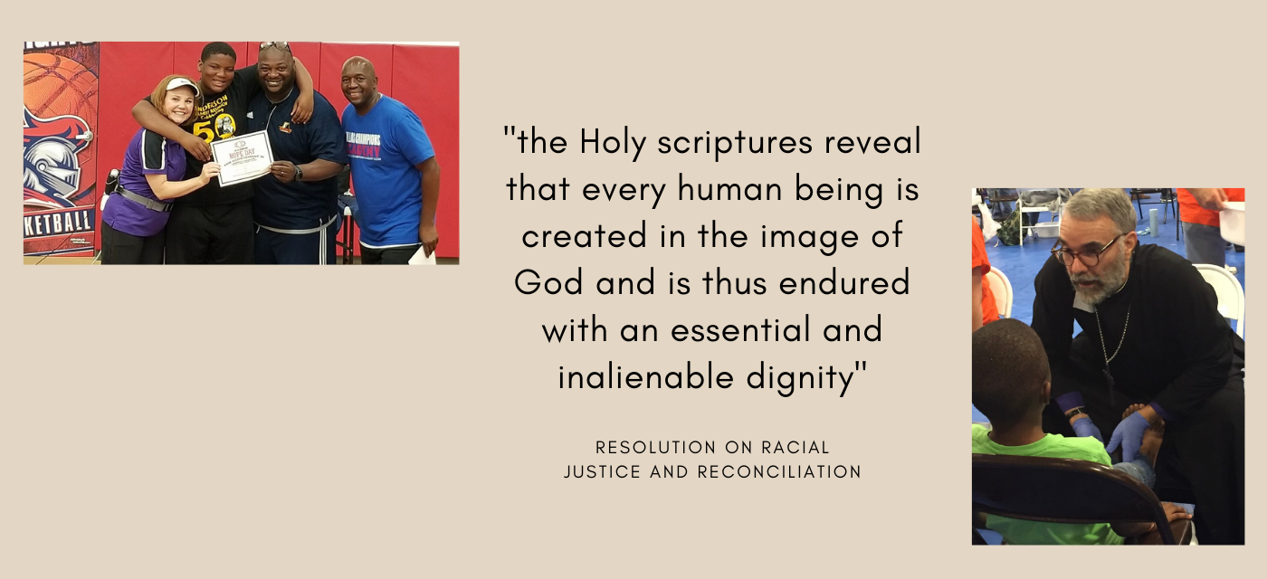 Resolution on Racial Justice and Reconciliation