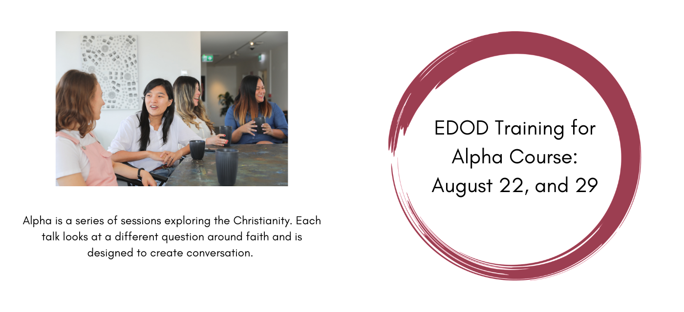 Enroll Now for Alpha Course Training